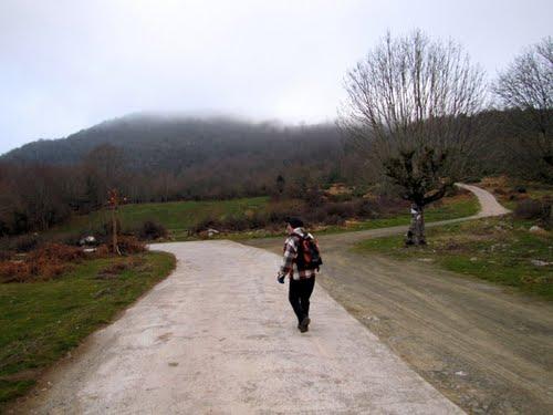 Collado Landeder, camino de Aiztondo