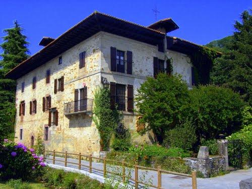 """ITZEA Casa solariega de Pio Baroja (Bera de Bidasoa)   Ancestral house of Pio Baroja in Bera de Bidasoa - Navarra- named """"Itzea"""""""