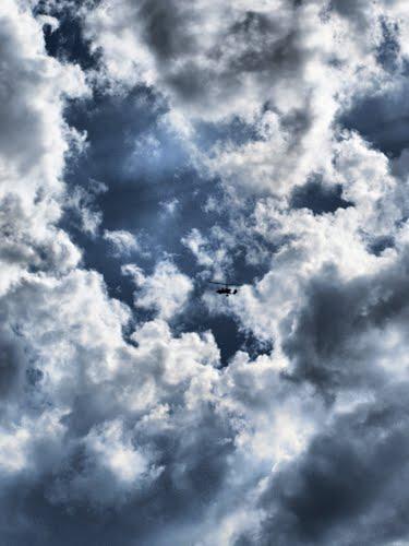 Parece que hay muchas nubes hoy por pano ¿por que será?