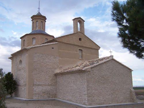 Valfarta. Ermita San Miguel. Los Monegros. Huesca.