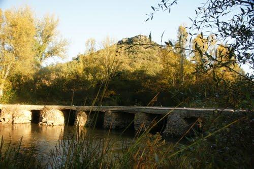 ???? ? ????????? ????? ?? ????. Puente en Cidad de Ebro.