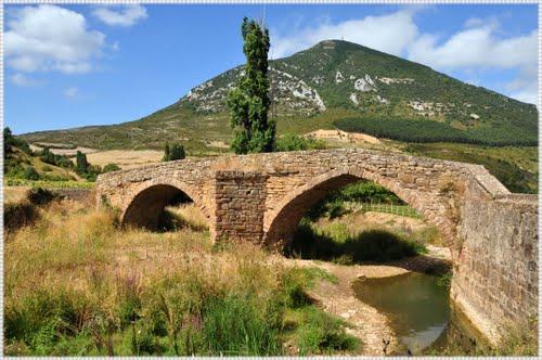 Puente medieval en Monreal