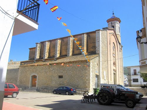 SANTA MAGDALENA DE PULPIS (castellón) iglesia de santa maria magdalena