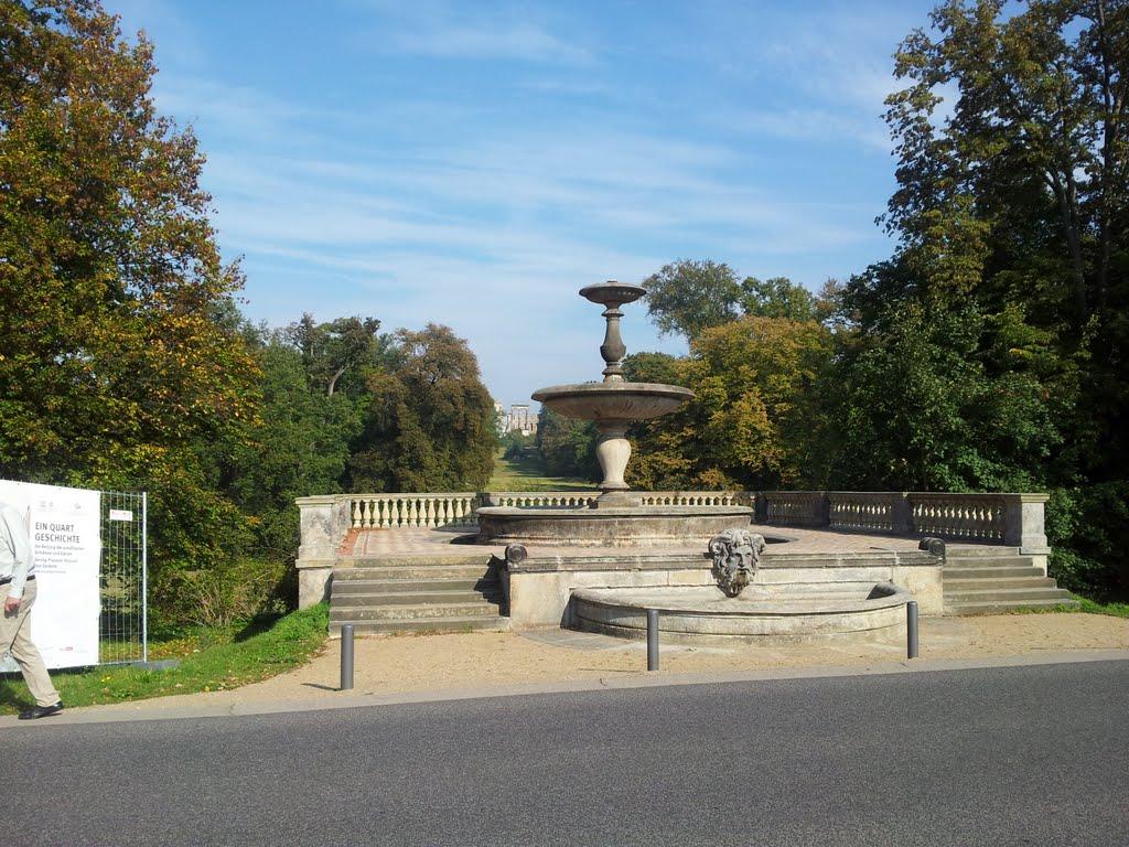 Brunnen zu Sanssouci