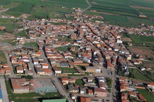Vista aérea de Carbajales de Alba