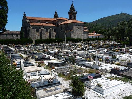 Cemiterio de Adina en Iria Flavia - Padrón