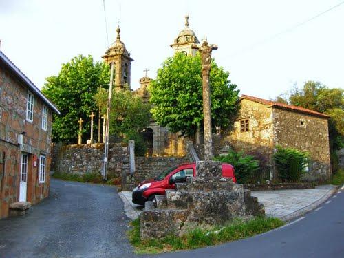 Igrexa de San Simón de Cacheiras