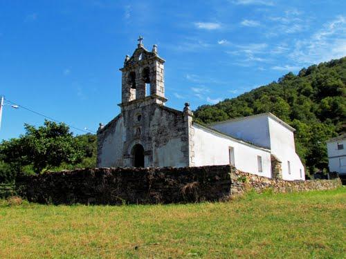 Iglesia de Rao. Lugo.