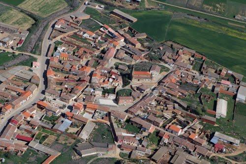 Vista aérea de Vega de Villalobos