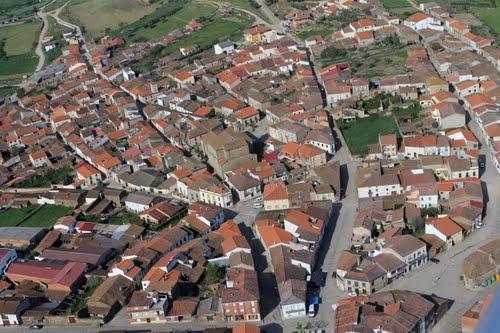 Vista aérea de Hinojosa de Duero