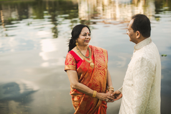 A cozy and loving Indian husband and wife session at home in Houston, Texas