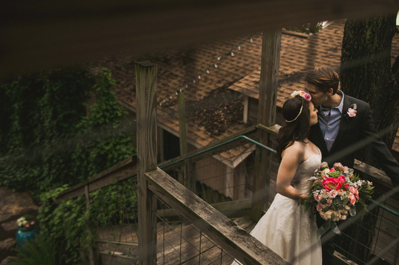 An intimate early summer wedding at Sanctuary Yoga in Austin, Texas