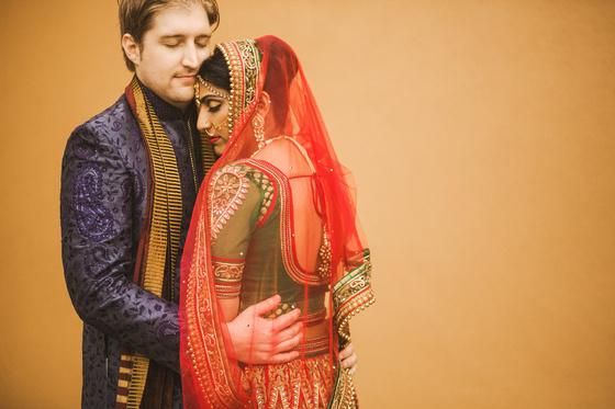 A vibrant Indian wedding celebration at The Sheraton Hotel in Houston, Texas