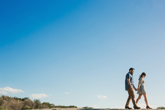 A beautiful outdoor engagement session at McKinney Falls State Park in Austin, Texas