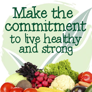 Commit to be Healthy and Strong - Hire a Nutrition Coach