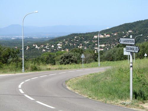 Romanyà road