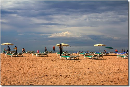 Beach in Santa Susanna