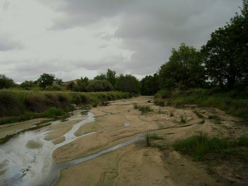 vado del camino Viejo de Cadalso en el arroyo Grande, 2010.