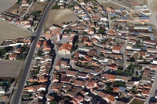 Vista aérea de Pozal de Gallinas