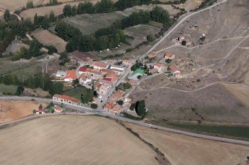 Vista aérea de Ausejo de la Sierra