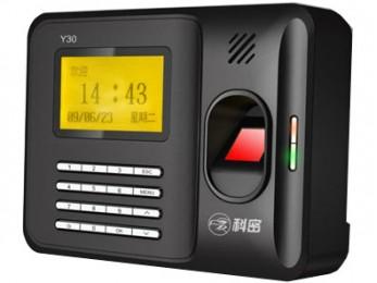科密 Y30 指纹考勤机,广西安防网直销系列产品