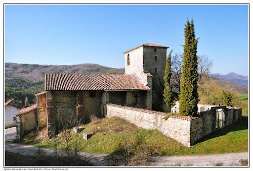 Iglesia dedicada a San Juan Bautista, Etsain, Anué (Navarra)