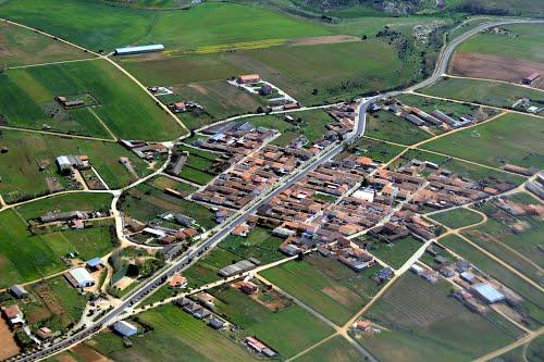 Vista aérea de Palacios del Pan