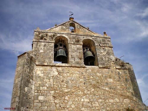 campanario en Cardeñuela Riopico  (Camino Francés)