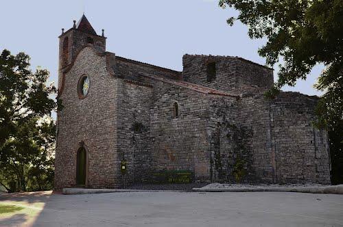 Església  Sta María -Romànic s. XII- Freixenet de Segarra