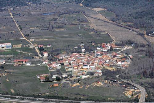 Vista aérea de Milla de Tera