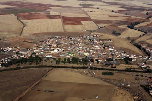 Vista aérea de Aspariegos