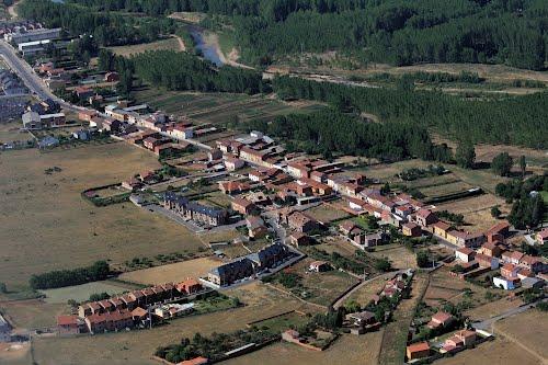 Vista aérea de Carbajal de la Legua