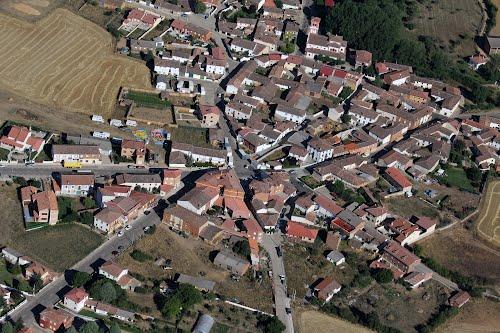 Vista aérea de Buenavista de Valdavia