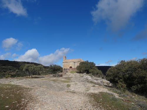 Sant Romà, nucli antic de Comiols (març 2013)