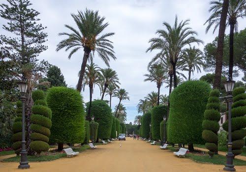 Park Genoves / Cadiz, Spain