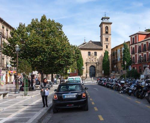 Plaza Santa Ana / Granada, Spain