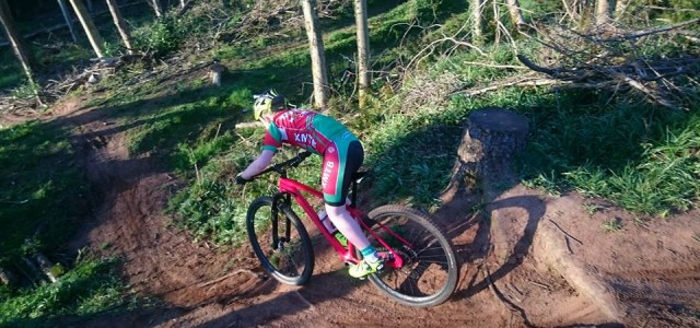XMTB Club League Rd ? 1, by Ronan Campbell Wednesday night saw Round 1 of the club league kick off in glorious sunshine at the XMTB secret test track deep [?]