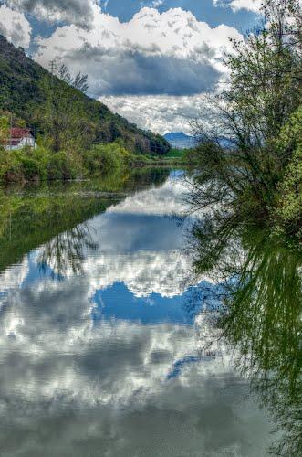 El Omecillo desemboca en el Ebro