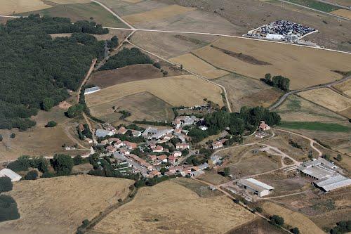 Vista aérea de Baños de la Peña