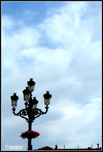 """"" Farola de Totana"""" "" The Lamp post"" in Totana"