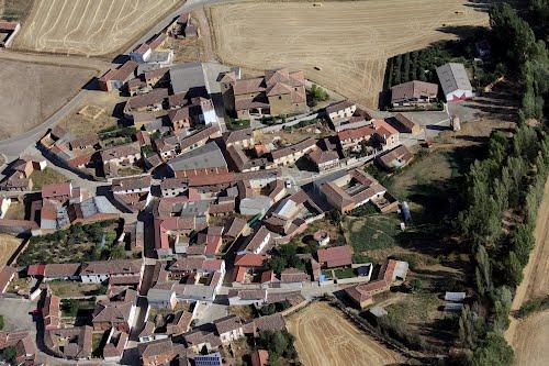 Vista aérea de Quintanilla de Onsoña