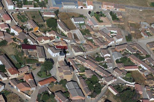 Vista aérea de Renedo de Valdavia