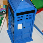 Doctor Who Tardis i lego