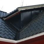 Plåtad takkupa