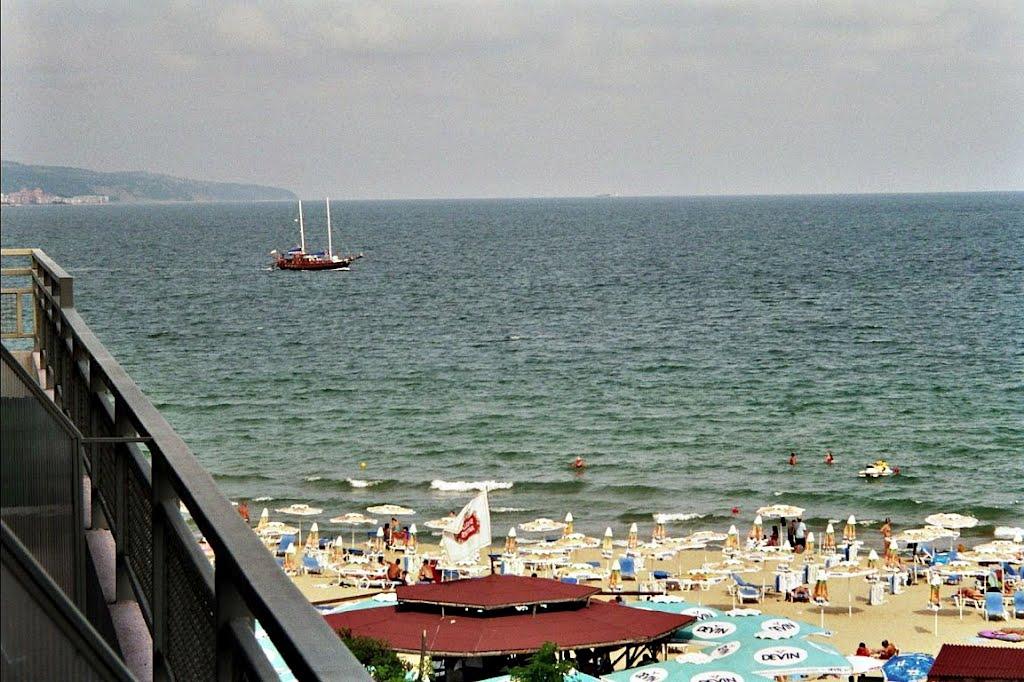 Bulgarien, Schwarzes Meer, am Sonnenstrand