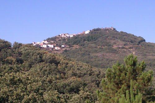 Vista de Santibáñez el Alto.