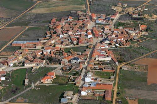 Vista aérea de Moratones