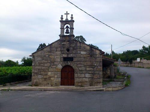 Iglesia de Santa Eulalia.O Santo