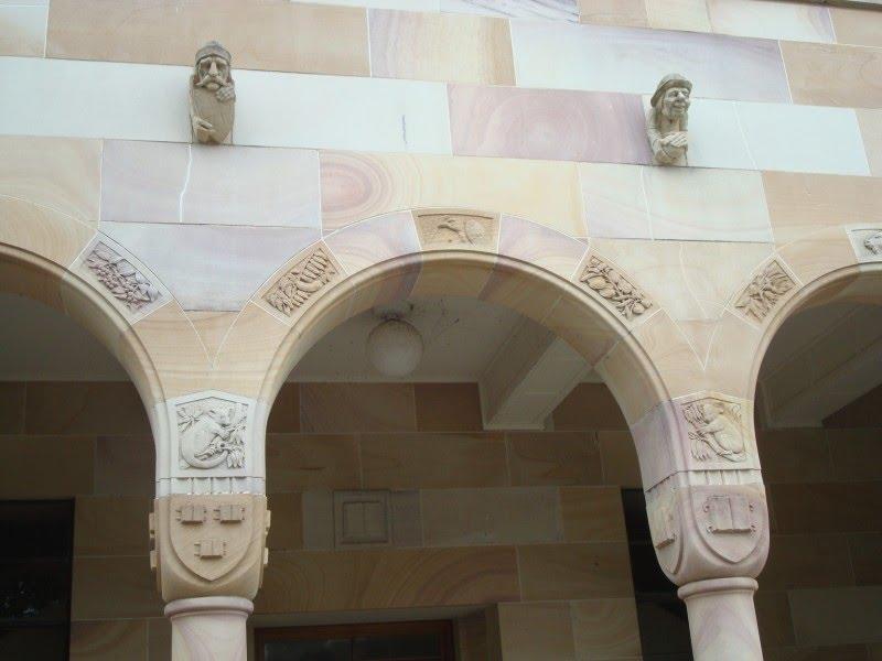 Brisbane Uni Gargoyles