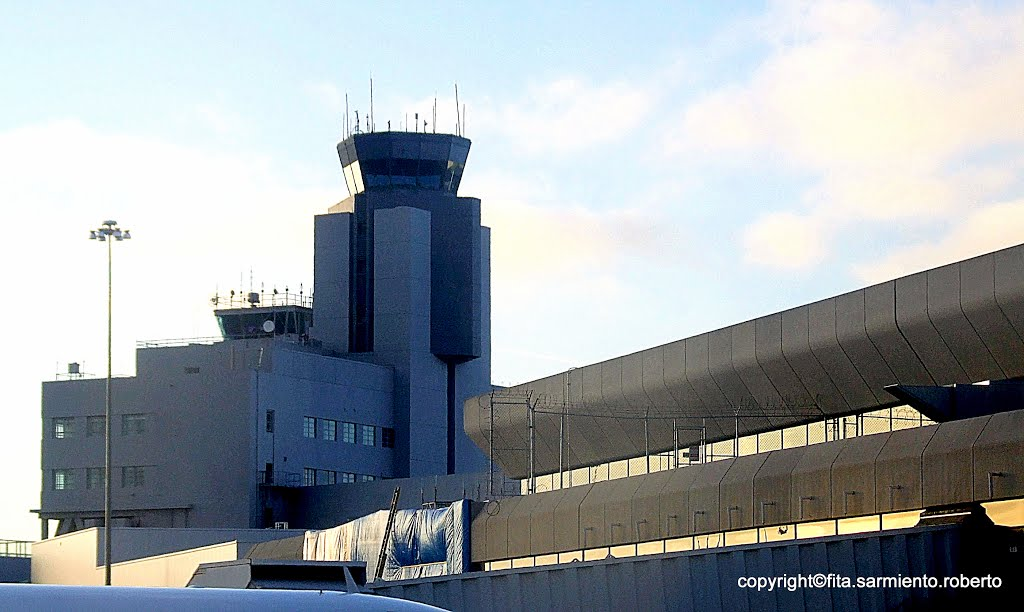 San Francisco, CALIFORNIA - SFO International Airport Control Towers